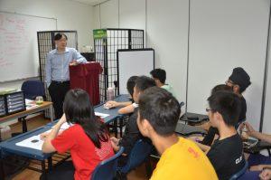 Michael Fong (m.b.b.s) biology tuition class
